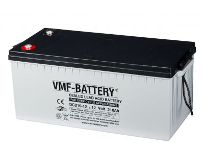 VMF AGM Deep Cycle 12V 210A/h