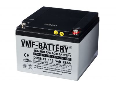 VMF AGM Deep Cycle 12V 28A/h
