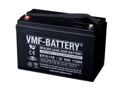 VMF AGM Deep Cycle EV 12V 110A/h