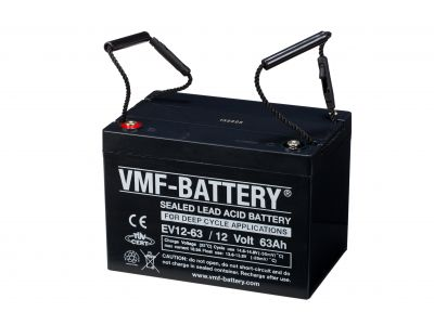 VMF AGM Deep Cycle EV 12V 63A/h