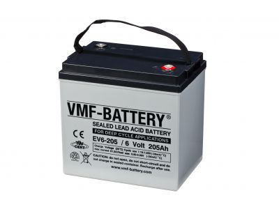 VMF AGM Deep Cycle EV 6V 205A/h