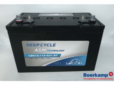 Leoch AGM Deep Cycle 12V 118A/h