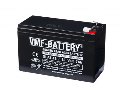 VMF AGM Sealed Lead Acid 12V 7A/h